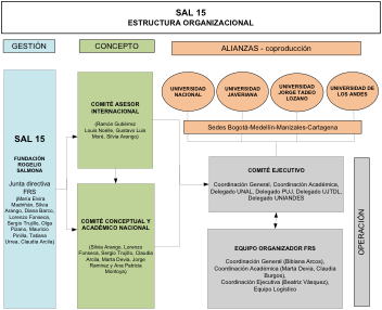 Estructura Organizativa SAL 15
